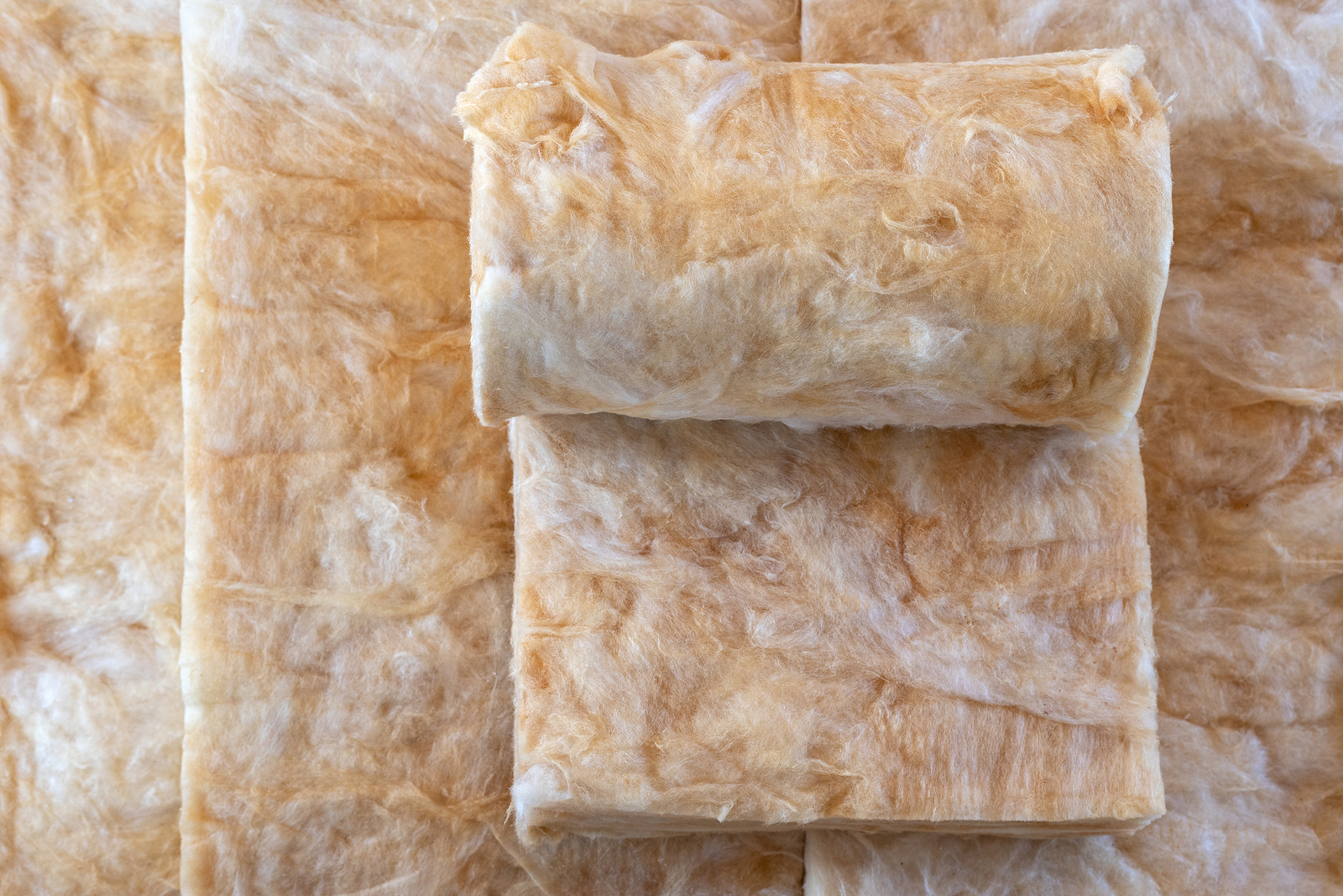 rolls of mineral rock wool industrial insulation